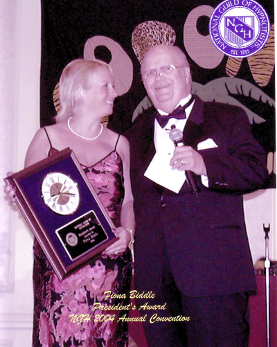 Fiona Biddle receives Presidents award