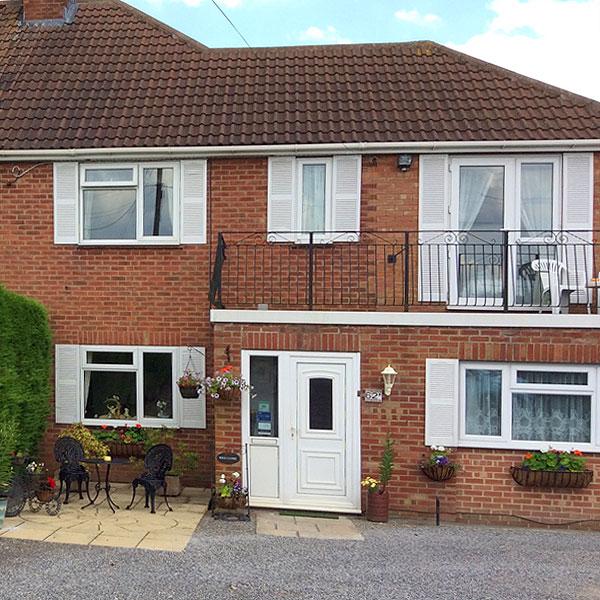 Front View Paxcroft Cottage 4 Star Bed & Breakfast, Trowbridge, Wiltshire