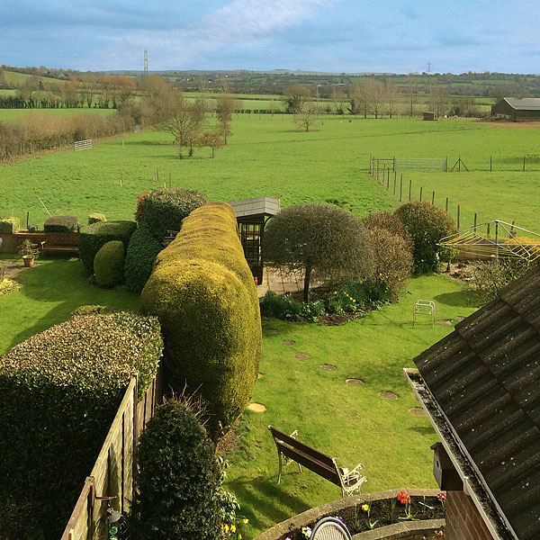 The Garden Paxcroft Cottage 4 Star Bed & Breakfast, Trowbridge, Wiltshire