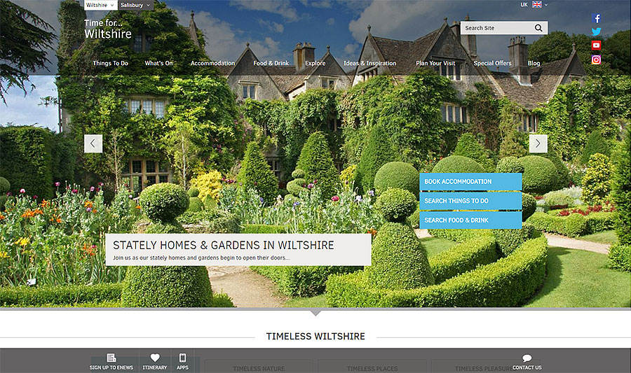 Visit Wiltshire Website